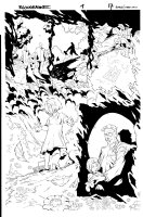 Bloodrayne 1 pg 17 Comic Art