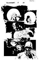 Bloodrayne 1 pg 18 Comic Art