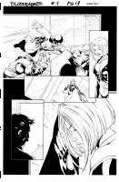 Bloodrayne 1 pg 19 Comic Art
