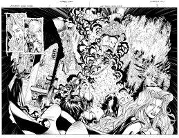 Lady Death Untold Stories 1 pg 2 - 3 Comic Art