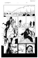 Witchfinder 1 pg 17 Comic Art
