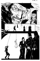 Witchfinder 2 pg 10 Comic Art