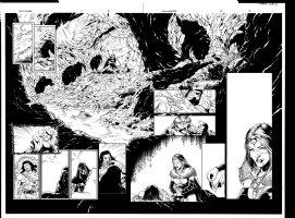 Witchfinder 2 pg 6 - 7 Comic Art