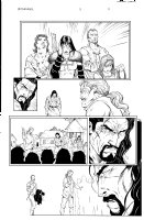 Witchfinder 3 pg 11 Comic Art