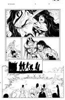 Witchfinder 3 pg 13 Comic Art