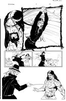 Witchfinder 3 pg 20 Comic Art