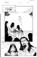 Witchfinder 3 pg 23 Comic Art