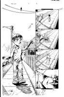 The Gift 5 pg 8 Comic Art