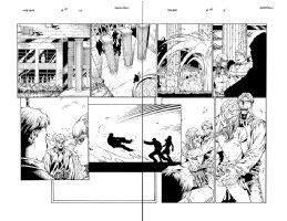 The Gift 10 pg 10-11 Comic Art