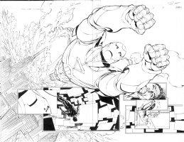 Civil War Initiative 1 pg 2 - 3 Comic Art
