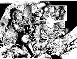 Darkness 15 pg 2 - 3  Comic Art