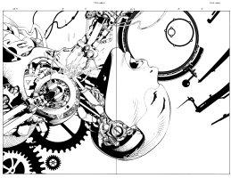 Aphrodite IX 0 pg 4 - 5 Comic Art