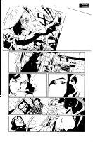 Crew 5 pg 4 Comic Art