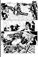 Crew 6 pg 18 Comic Art