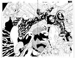Crew 7 pg 2-3 dps Comic Art