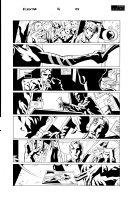 Elektra 16 pg 3 Comic Art
