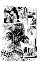 Cyberforce 28 pg 13 Comic Art