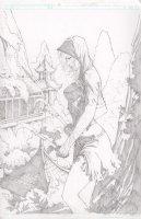 Executive Assistant Assassins 14 Cover Comic Art
