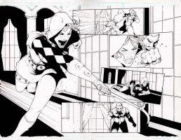 Executive Assistant Assassins 15 pg 12-13 Aspen Comic Art