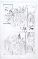 Soulfire 8 pg 15 Comic Art
