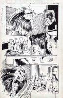 Ballistic Wolverine 1 pg 10 Comic Art
