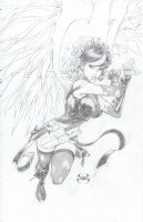 Avengelyne 1 Cover Comic Art