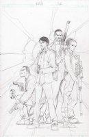 Mindfield 1 Cover Aspen Comics Comic Art